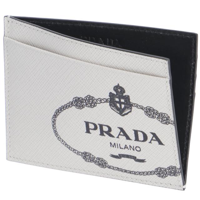 プラダ PRADA 2019年秋冬新作 メンズ カードケース 名刺入れ サフィアーノプリント メンズ カードケース 2MC223 2MB8 N13