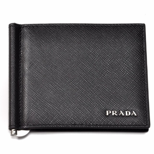 プラダ PRADA 2017年秋冬新作 マネークリップ メンズ 財布 メンズ 二つ折り財布 2MN077 C5S G52