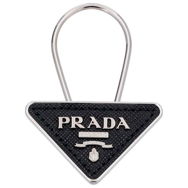 プラダ PRADA  キーホルダー キーリング 型押しカーフスキン 2PP301 053 002