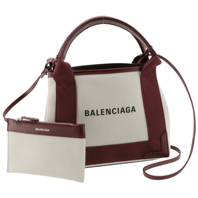 【SALE】バレンシアガ BALENCIAGA トートバッグ カバ XS キャンバスバッグ 2WAYハンドバッグ 390346 2HH3N 9262