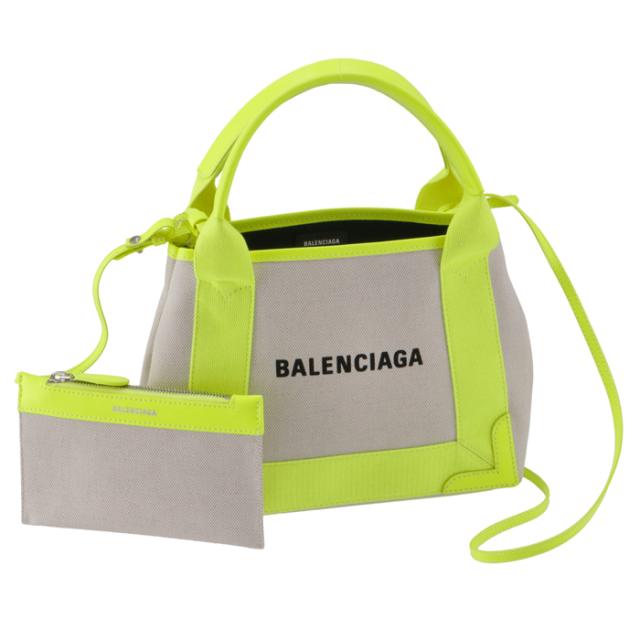 バレンシアガ BALENCIAGA 2020年秋冬新作 トートバッグ XS ネイビー カバ 2WAYハンドバッグ 390346 K9HAN 1072