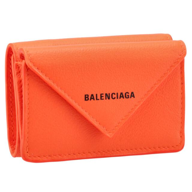 【SALE】バレンシアガ BALENCIAGA 財布 三つ折り ミニ財布 ペーパー PAPIER 三つ折り財布 391446 18D5N 7560