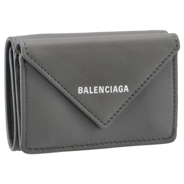 バレンシアガ BALENCIAGA 2018年春夏新作 ペーパーミニ PAPER ミニ財布 二つ折り財布 391446 DLQ0N 1215