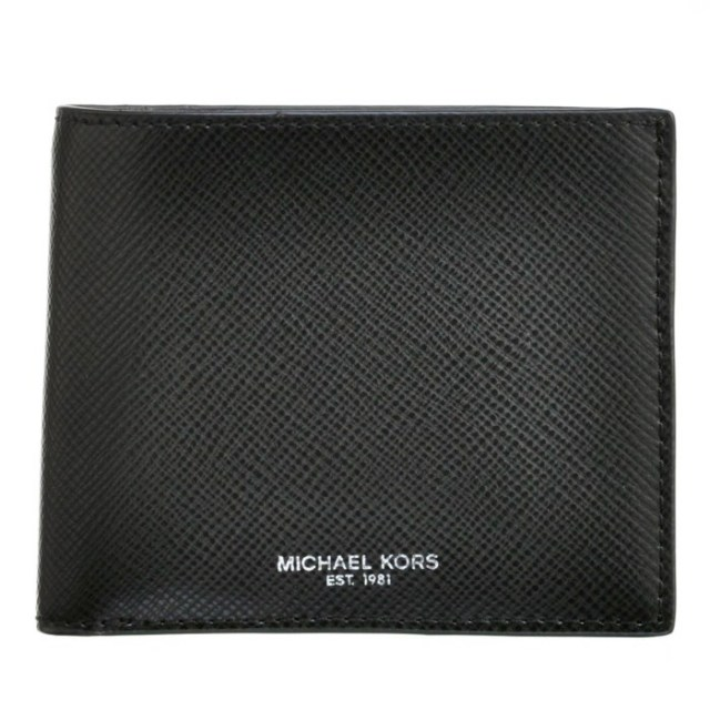 マイケル マイケル コース MICHAEL MICHAEL KORS 2017年秋冬新作 財布 メンズ HARRISON メンズ 二つ折り財布 39F5LHRF1L 0001 001