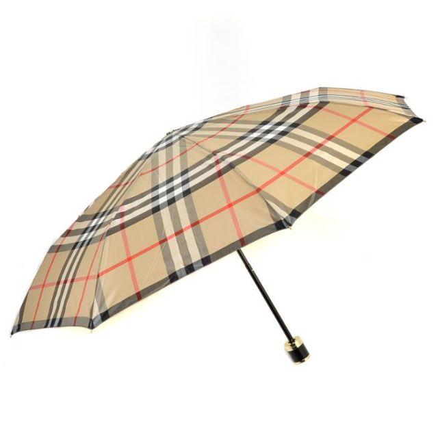 バーバリー BURBERRY 2017年春夏新作  折りたたみ傘 ポリエステル 4007173