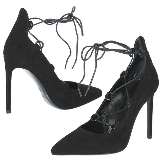 サンローラン パリ SAINT LAURENT PARIS 靴 パンプス スエード 404589 C2000 1000