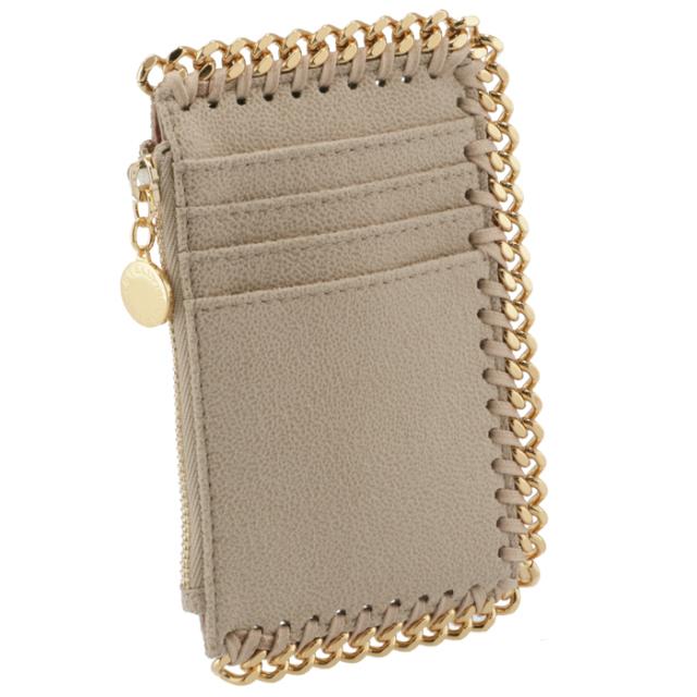 ステラマッカートニー STELLA MCCARTNEY カードホルダー&コインケース FALABELLA フラグメントケース ジップ付き財布 カードケース 422364 W9355 9300