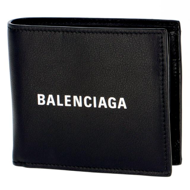 バレンシアガ BALENCIAGA 2019年秋冬新作 財布 二つ折り EVERYDAY エブリデイ 二つ折り財布 487435 DLQHN 1060