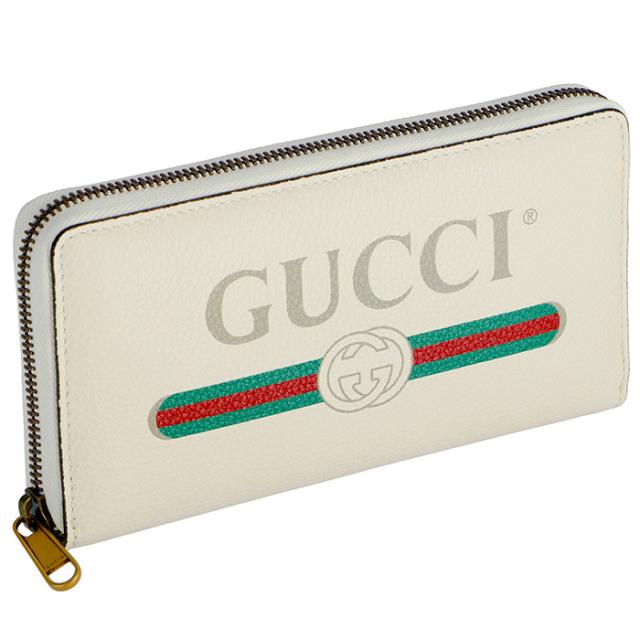 グッチ GUCCI 2019年春夏新作 財布 ヴィンテージロゴプリント メンズ  ラウンドファスナー長財布 496317 0GCAT 8820