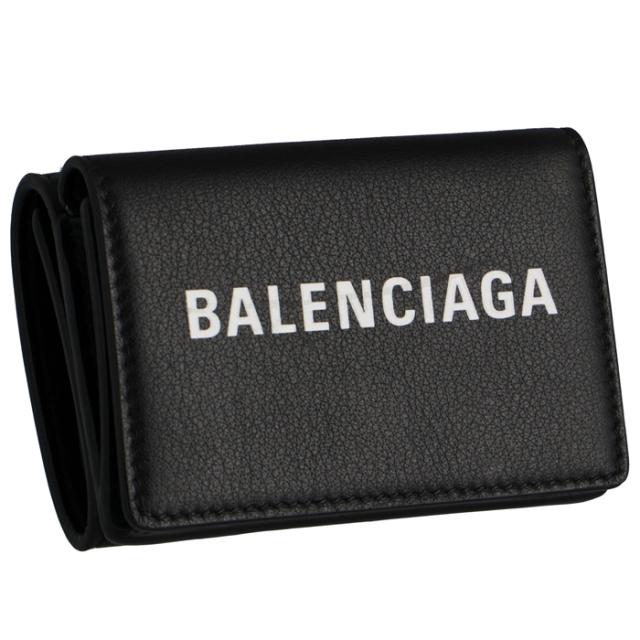 バレンシアガ BALENCIAGA 2019年秋冬新作 EVERYDAY エブリデイ ミニ財布 メンズ 三つ折り財布 505055 DLQHN 1060