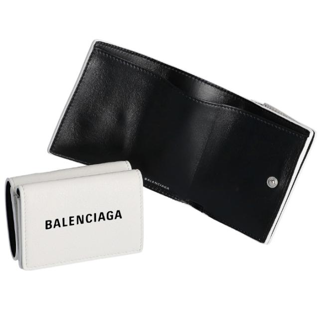バレンシアガ BALENCIAGA 2019年秋冬新作 財布 三つ折り EVERYDAY エブリデイ ミニ財布 三つ折り財布 505055 DLQHN 9060