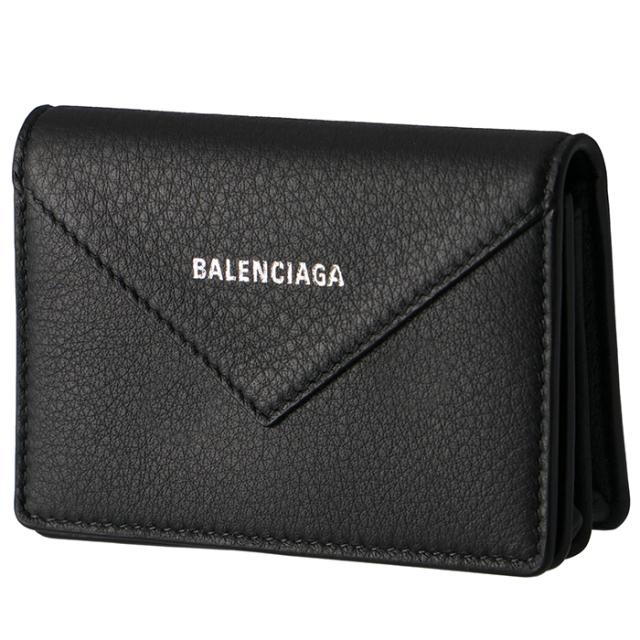 バレンシアガ BALENCIAGA 2019年秋冬新作 PAPIER ペーパー カードケース 名刺入れ メンズ カードケース 505238 DLQ0N 1000