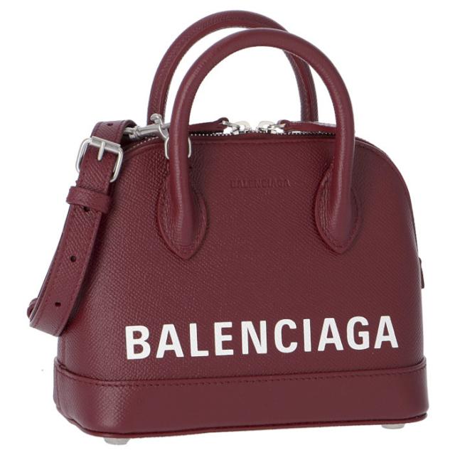 バレンシアガ BALENCIAGA 2019年秋冬新作 ショルダーバッグ ヴィル VILLE トップハンドル XXS 2WAYショルダーバッグ 550646 0OTN3 6275