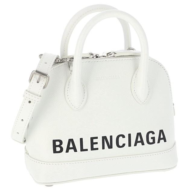 バレンシアガ BALENCIAGA 2019年秋冬新作 ショルダーバッグ ヴィル VILLE トップハンドル XXS 2WAYショルダーバッグ 550646 0OTN3 9060