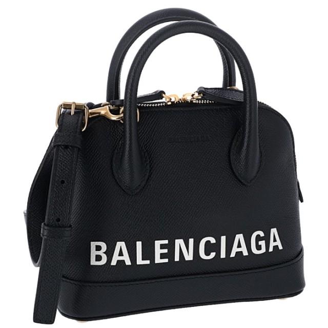 バレンシアガ BALENCIAGA 2019年秋冬新作 ショルダーバッグ ヴィル VILLE トップハンドル XXS 2WAYショルダーバッグ 550646 0OTNM 1090