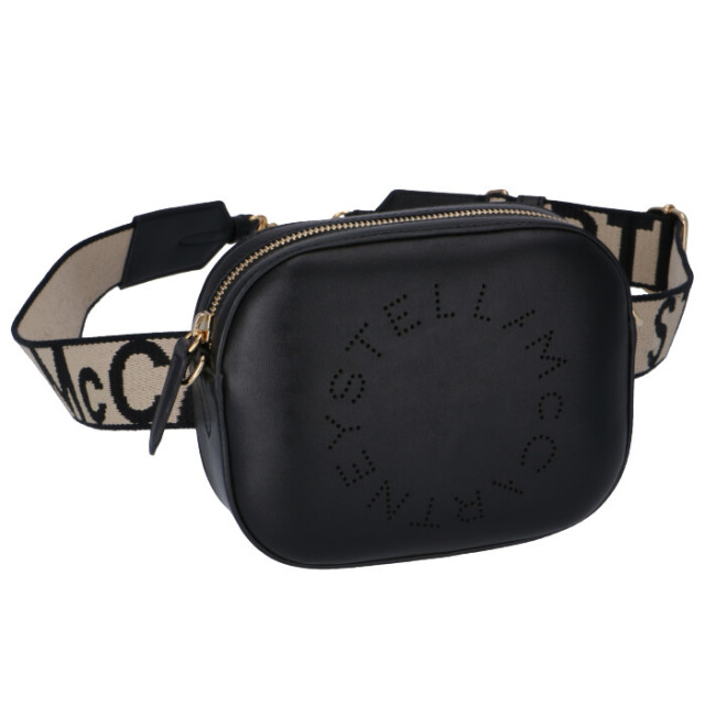 ステラマッカートニー STELLA MCCARTNEY  ロゴ ベルトバッグ バムバッグ ショルダーバッグ ウエストポーチ 557903 W8542 1000
