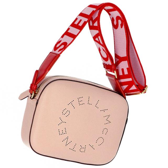 ステラマッカートニー STELLA MCCARTNEY 2019年春夏新作 ロゴ ショルダーバッグ MINI CAMERA BAG ショルダーバッグ 557907 W9923 6553