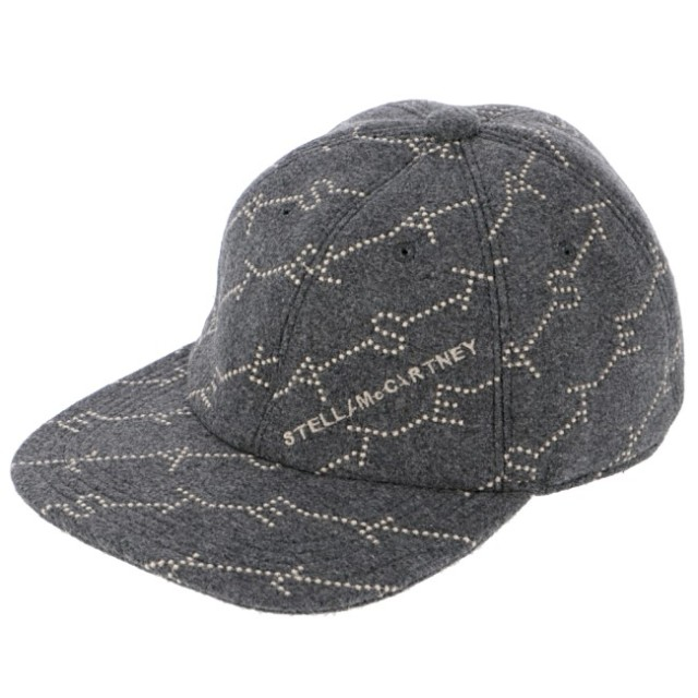 ステラマッカートニー STELLA MCCARTNEY 2019年秋冬新作 ロゴモノグラム ベースボールキャップ 帽子 キャップ 558052 W8556 1165