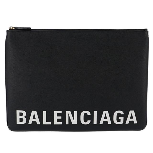 バレンシアガ BALENCIAGA 2019年秋冬新作 バッグ ヴィル ポーチL ロゴクラッチバッグ クラッチバッグ 579550 0OTNM 1090