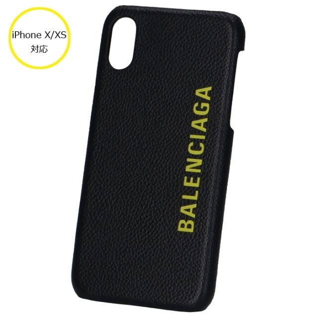 バレンシアガ BALENCIAGA  iPhone X/XS ケース スマホケース アイフォンX/XSケース 585828 1IZD0 1070【06-SS】