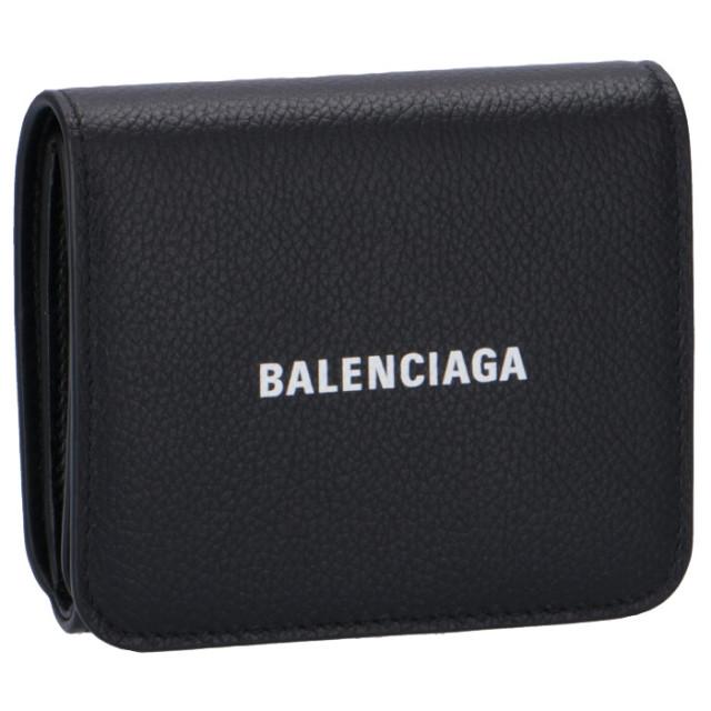 バレンシアガ BALENCIAGA 2020年春夏新作 財布 三つ折り ミニ財布 三つ折り財布 593808 1IZ4M 1090【06-SS】