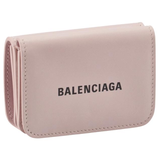 【SALE】バレンシアガ BALENCIAGA 財布 三つ折り ミニ財布 ロゴ キャッシュ ミニウォレット 三つ折り財布 593813 1I353 5960