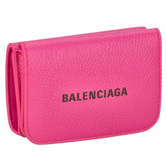 バレンシアガ BALENCIAGA  財布 三つ折り ミニ財布 ロゴ ミニウォレット 三つ折り財布 593813 1IZ43 5660【06-SS】
