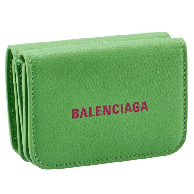 バレンシアガ BALENCIAGA 2020年秋冬新作 財布 三つ折り ミニ財布 ロゴ キャッシュ ミニウォレット 三つ折り財布 593813 1IZI3 3865