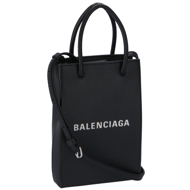 バレンシアガ ショルダーバッグ ショッピング フォン ホルダーバック クロスボディ 2WAYハンドバッグ 593826 0AI2N 1000