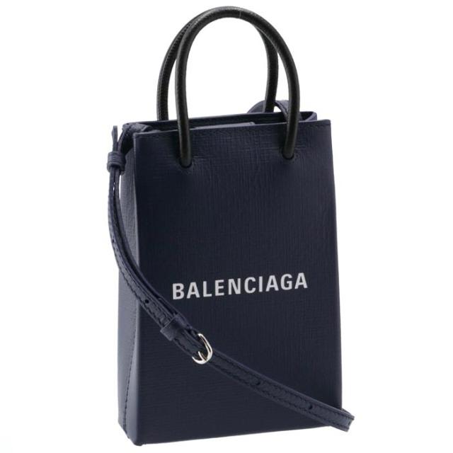 バレンシアガ BALENCIAGA 2020年秋冬新作 ショルダーバッグ ショッピング フォン ホルダーバッグ 2WAYハンドバッグ 593826 0AI2N 4611