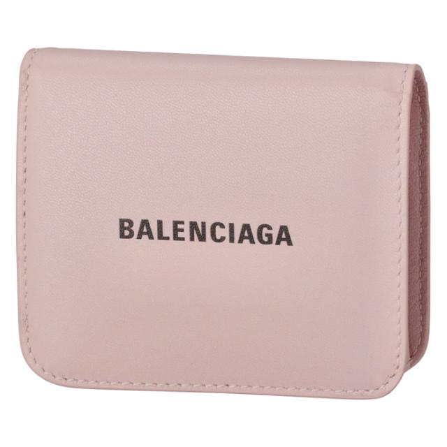 バレンシアガ BALENCIAGA 財布 二つ折り ロゴ フラップウォレット 二つ折り財布 594216 1I313 5960