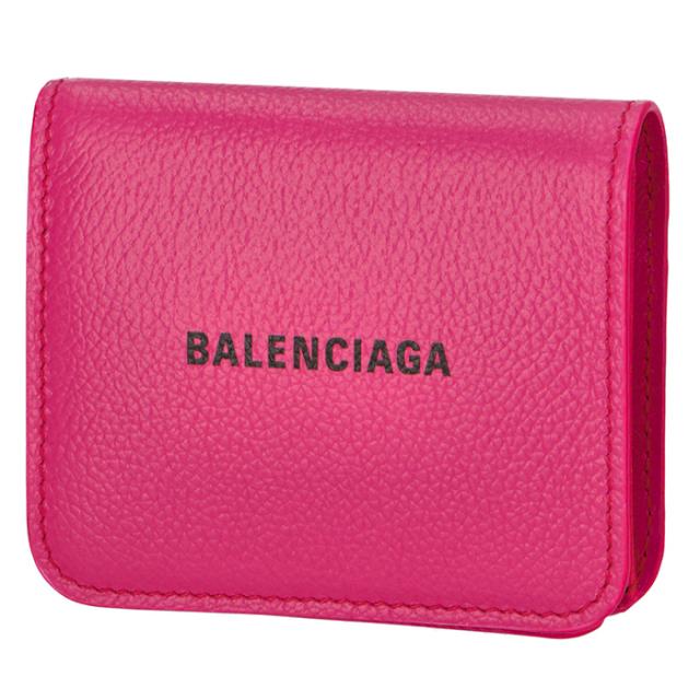 バレンシアガ BALENCIAGA 2020年春夏新作 財布 二つ折り ロゴ フラップウォレット 二つ折り財布 594216 1IZ43 5660