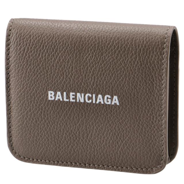 バレンシアガ BALENCIAGA 2020年秋冬新作 財布 二つ折り ミニ財布 ロゴ キャッシュ フラップウォレット 二つ折り財布 594216 1IZI3 1290