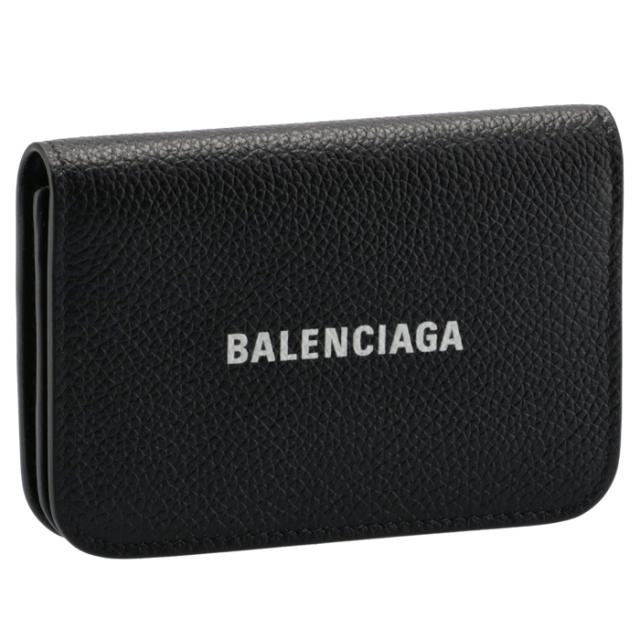 バレンシアガ BALENCIAGA 2021年秋冬新作 カードケース CASH ブラック 594220 1IZIM 1090