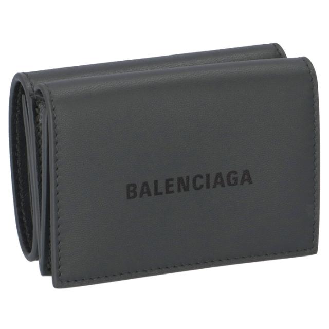 バレンシアガ BALENCIAGA 2020年春夏新作 財布 三つ折り ミニ財布 ロゴ ミニウォレット メンズ 三つ折り財布 594312 1I313 1360