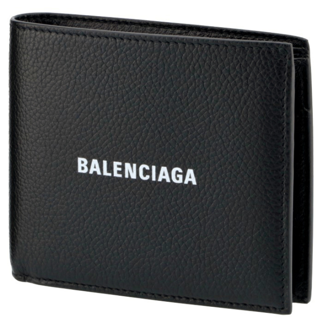 バレンシアガ BALENCIAGA 2020年春夏新作 財布 二つ折り 折りたたみ メンズ 二つ折り財布 594315 1IZ43 1090