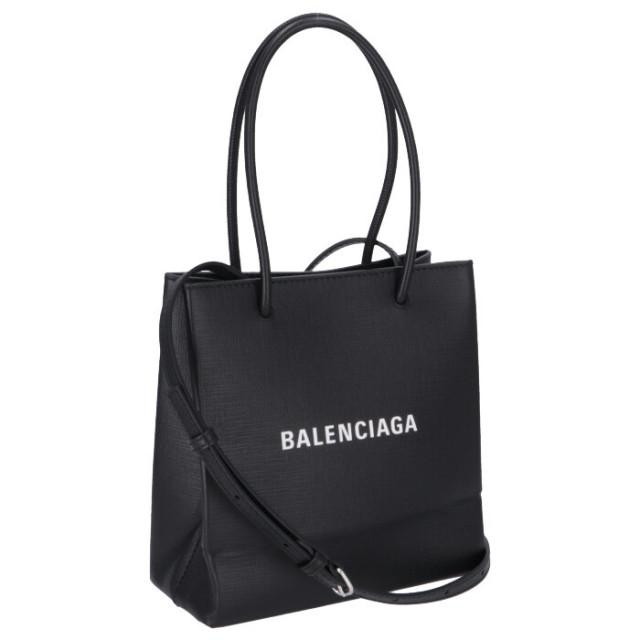 バレンシアガ BALENCIAGA 2020年春夏新作 ショッピングトート XXS ショルダーバッグ 2WAYハンドバッグ 597858 0AI2N 1000【06-SS】