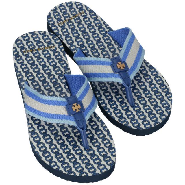 トリーバーチ TORY BURCH ビーチサンダル GEMINI LINK FLIP FLOP シューズ 靴 ビーチサンダル 61715 0061 410【06-SS】