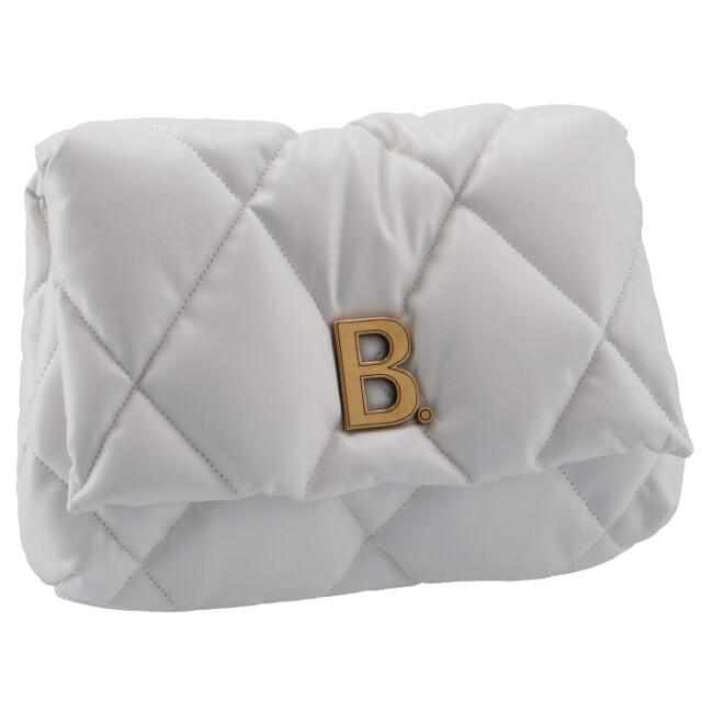 バレンシアガ BALENCIAGA クラッチバッグ タッチ パフィ TOUCH PUFFY キルティングバッグ ホワイト 619450 1WN4M 9016
