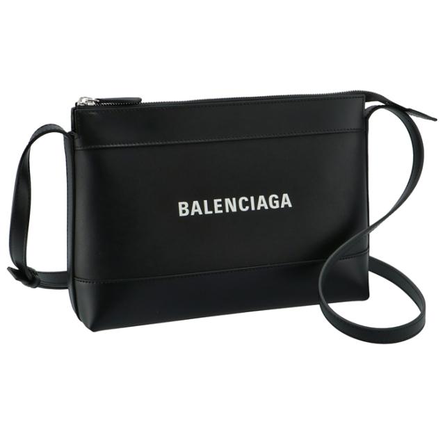 バレンシアガ BALENCIAGA 2021年春夏新作 ショルダーバッグ ロゴ レザー クロスボディバッグ ショルダーバッグ 639497 18D1N 1000
