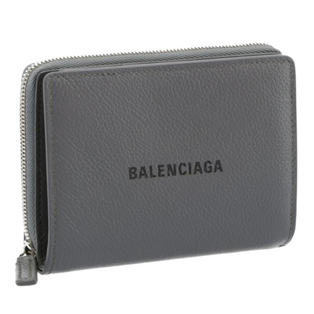 バレンシアガ BALENCIAGA 財布 二つ折り ロゴ CASH バイフォールド ウォレット 二つ折り財布 650879 1IZI3 1260