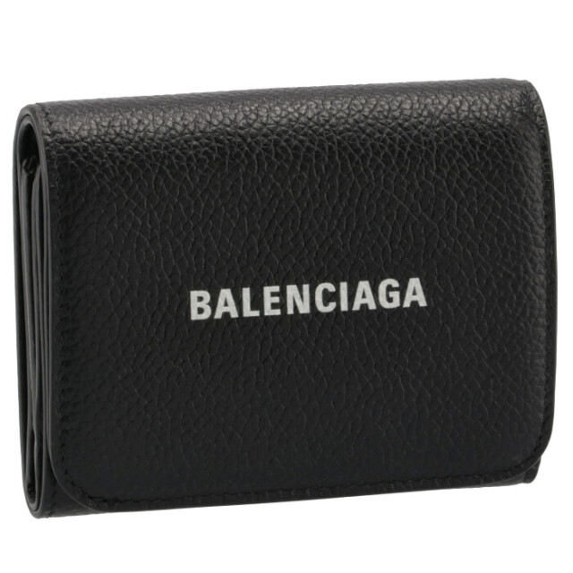 バレンシアガ BALENCIAGA 2021年秋冬新作 財布 三つ折り CASH ジップ ミニウォレット ブラック 655622 1IZIM 1090