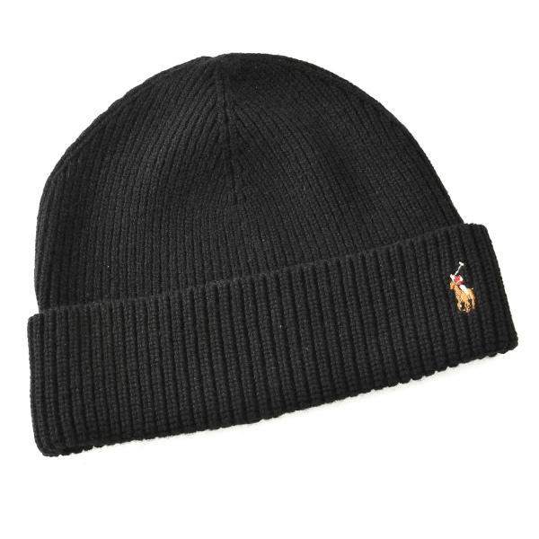 ポロ ラルフ ローレン POLO RALPH LAUREN  メリノウール100% 帽子 6F0101 0006 001