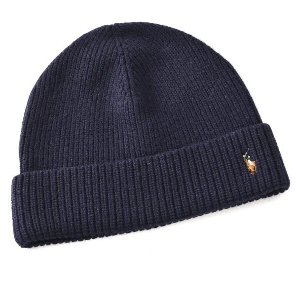 ポロ ラルフ ローレン POLO RALPH LAUREN  メリノウール100% 帽子 6F0101 0006 433