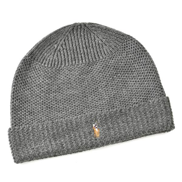 ポロ ラルフ ローレン POLO RALPH LAUREN  メリノウール100% 帽子 6F0402 0004 012