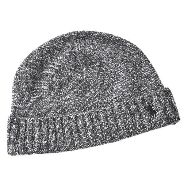 ポロ ラルフ ローレン POLO RALPH LAUREN  カシミア80% ラムウール20% 帽子 6F0407 0002 002