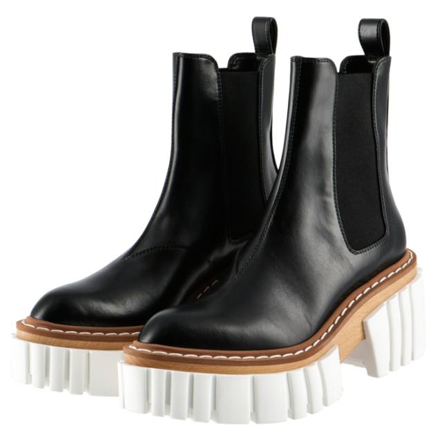 ステラマッカートニー STELLA MCCARTNEY 2020年秋冬新作 EMILY エミリー チェルシーブーツ  靴 サイドゴアブーツ 800251 N0131 1002