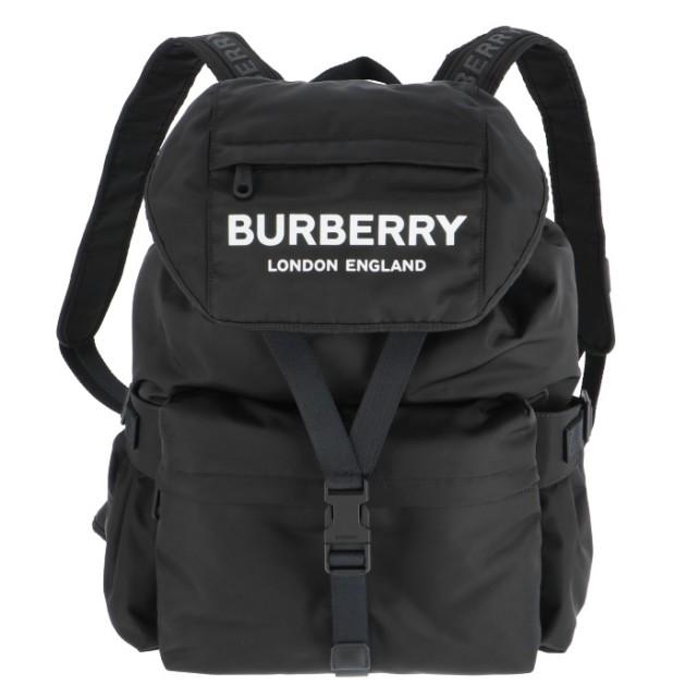 バーバリー BURBERRY 2019年秋冬新作 ロゴプリント ナイロン バックパック リュックサック リュックサック 8010608