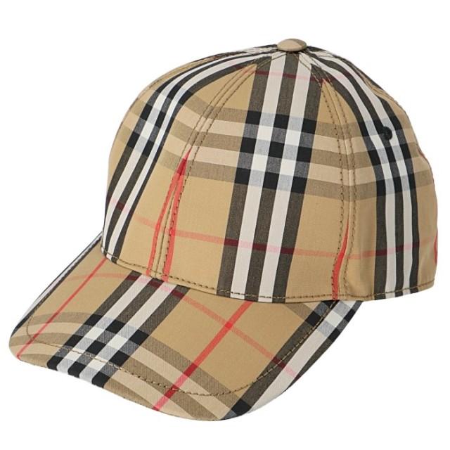 バーバリー BURBERRY 2019年秋冬新作 ベースボールキャップ ヴィンテージチェック 帽子 キャップ 8015833