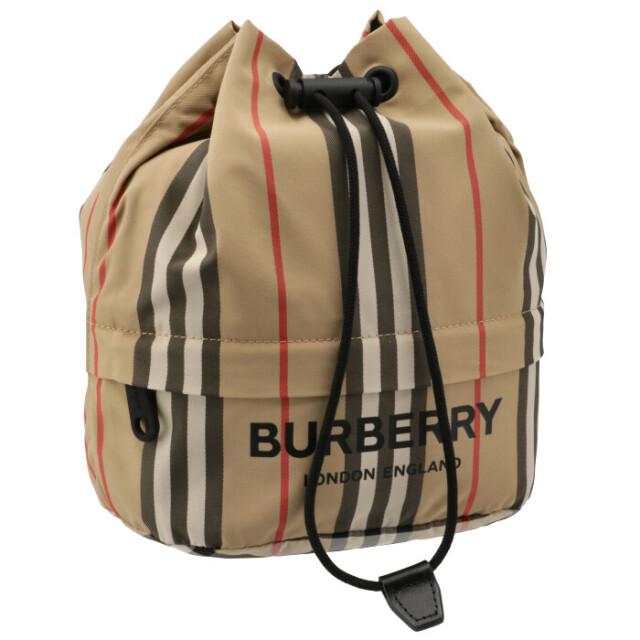 バーバリー BURBERRY 2021年秋冬新作 ナイロン ドローコードポーチ ポーチ 8026737